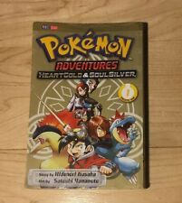 Pokemon Adventures: Heart Gold & Soul Silver Volume 1 Softcover