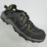 Salomon Techamphibian Mesh Hiking Trail Water Shoes Gray Contagrip Mens Size 9