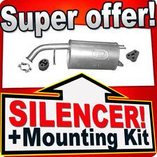 Rear Silencer KIA PICANTO (BA) 1.0 1.1 Exhaust AKT