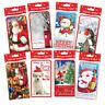 Packs Christmas Money Wallets Gift Voucher Presents Self Sealing 3D 4 6 FREE P&P