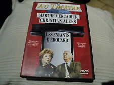 """DVD """"LES ENFANTS D'EDOUARD"""" Marthe MERCADIER, Christian ALERS / theatre"""