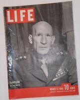 March 12, 1945 LIFE Magazine WWII War 1940s advertising ads ad FREE SHIP 3 2