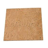 Natural Cork Sheet for Saxophone Flute Clarinet Oboe Replacement 12x11x2cm