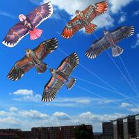 1.1m Huge Eagle Kite single line Children's Outdoor toy Novelty animal Ki Gift