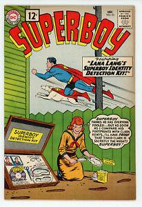JERRY WEIST ESTATE: SUPERBOY #93 (DC 1962) VF/NM condition! NO RES!