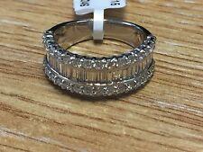 RRP £4800 1.50ct  F/VS Baugatte and  Round Diamond  Wedding Ring