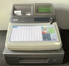 CASIO TE-4500F Electronic Cash Register Complete With Till Rolls And Free P&P