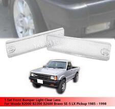 Front Bumper Light Clear Lens For Mazda B2000 B2200 B2600 Bravo SE-5 LX Pickup