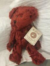 New listing Boyds Bears *Holly*, Mohair Bear #590064, Ltd #2635/5000, Nwt