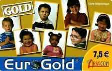 Carte prépayée - GOLD Eurogold - 31/12/2009