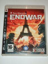 "Tom Clancys EndWar Playstation 3 PS3 ""FREE UK P&P"""