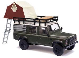 Busch 50374 H0 Land Rover Defender mit Dachzelt    #NEU OVP#