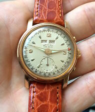 Vintage watch Boillat les bois HOURMATIC automatic day date montre Steel & Gold