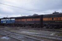 GREAT NORTHERN Railroad s GN 689 468 Locomotive SPOKANE WA Original Photo Slide