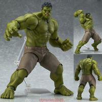 Avengers Figma 271 Hulk Anime Movable Action Hero Figure Toy Doll Model New
