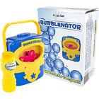 Bubblenator Bubble Blower Machine Kids Party Fun Toy Auto Blowing W/ Solution