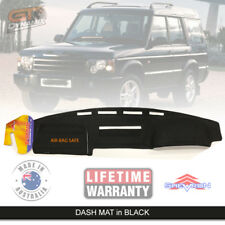 Black Dash Mat for LAND ROVER Discovery 2  HSE TD5 SE S 2/1999-3/2005 DM962