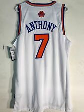 Adidas Swingman NBA Jersey New York Knicks Carmelo Anthony White sz XL
