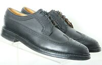 Florsheim Vintage Royal Imperial Black Long Wing Oxfords 96624 shoes Men's 10 B