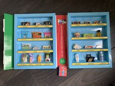More details for m&s little shop 1 complete set 25 collectables with case & cards
