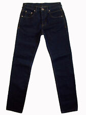 """ASOS """"Neon"""" buttonfly slim straight denim jeans 30R (29x33) like new!"""
