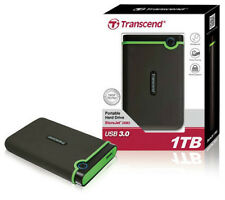 TRANSCEND STOREJET 25M3 1 TB USB 3.0 EXTERNAL Hard Disk Drive - 1TB-