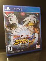 Naruto Shippuden: Ultimate Ninja Storm 4 PlayStation 4 PS4 Brand New Sealed