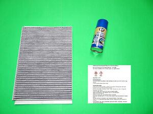 Aktivkohle Pollenfilter / Innenraumfilter + Klimareiniger Audi A8 (4N)