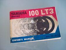 Yamaha Enduro 100LT3 Owner's Manual