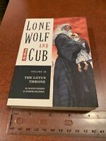Lone Wolf And Cub Volume 28 The Lotus Throne English Manga Dark Horse
