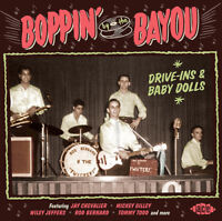 Various Artists : Boppin' By the Bayou: Drive-ins & Baby Dolls CD (2016)