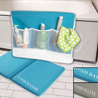 Posh Bath Foam Kneeler And Elbow Rest Bathtub Baby Kneeling Pad Mat Non Slip Set