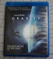 Gravity (Blu-ray Disc, 2013, Includes Digital Copy 2-Disc set)