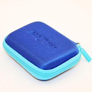 New Firm Zippered Mini Pocket Wallet Case for Earphone Headphone Earbuds Headset