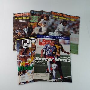 Sports Illustrated Magazine 1970s/90s Soccer (Football) World Wide  Lot Of 5