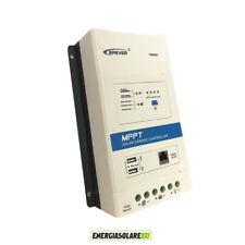 Regolatore di carica MPPT TRIRON4210N 40A 12V 24V DB1 UCS per litio