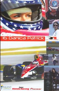 "2005 Danica Patrick Argent Mortgage ""1st Version"" Honda Panoz Indy Car Hero Card"