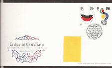 GB FDC 2004 Entente Cordiale