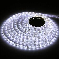 3528 5m 500cm Cool White 300 LED SMD Flexible Light Strip Lamp Waterproof DC 12V