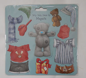 Me to You Tatty Teddy Dress Up Magnets. Bear outfits stick on clothes