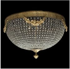 LIGHTING CRYSTAL BRASS PLAFOND 100 CM