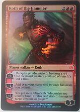 Koth du Marteau PREMIUM / FOIL PROMO - Koth of the Hammer Duel Deck - Magic Mtg