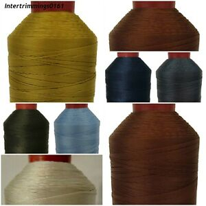 TOP QUALITY DURAFIX 100% POLYESTER THREAD 15'S, 1000MTR SPOOL, ASSORTED COLOURS
