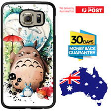 Galaxy Note 8 S8 S7 S6 S5 S4 S3 Edge Plus Rubber Case Totoro For Girls Samsung