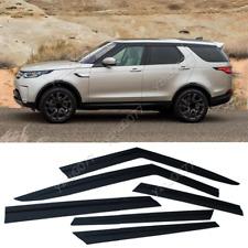 2017-2020 For Land Rover Discovery Black Window Visor Vent Shades Sun Rain Guard