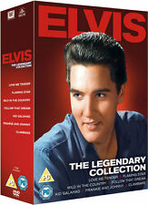 Elvis Presley 7 DVD Box Set Follow That Dream Kid Galahad Clambake Flaming Star