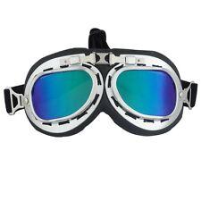 Vintage Anti-UV Motorcycle Scooter Pilot Goggles Helmet glasses Motocross Eyewea