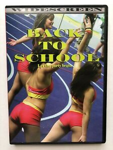 Back to School: Let the Party Begin - sexy college cheerleader DVD widescreen