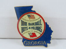 Vintage Baseball Pin - Dixie Boys Baseball Georgia - Inlaid Pin