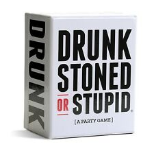 DRUNK STONED OR STUPID Party Game Cards for Friends Gathering Party